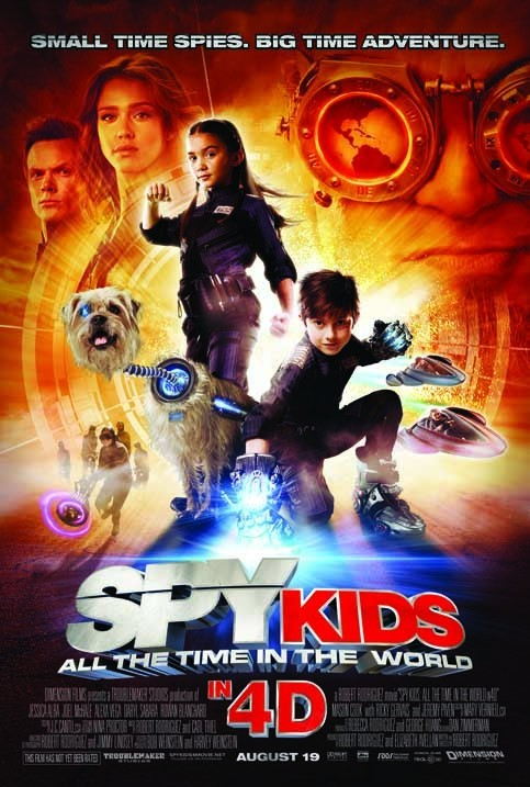 La locandina di Spy Kids 4: Armageddon