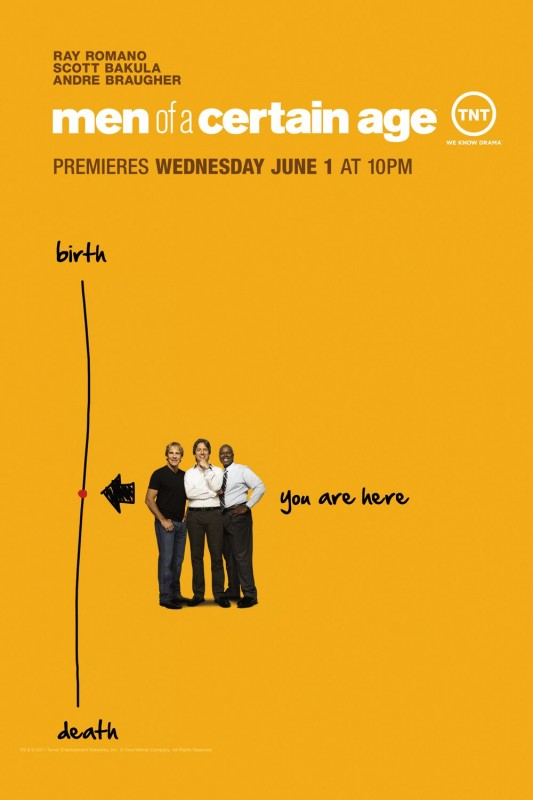 Nuovo poster della stagione 2 di Men of a Certain Age