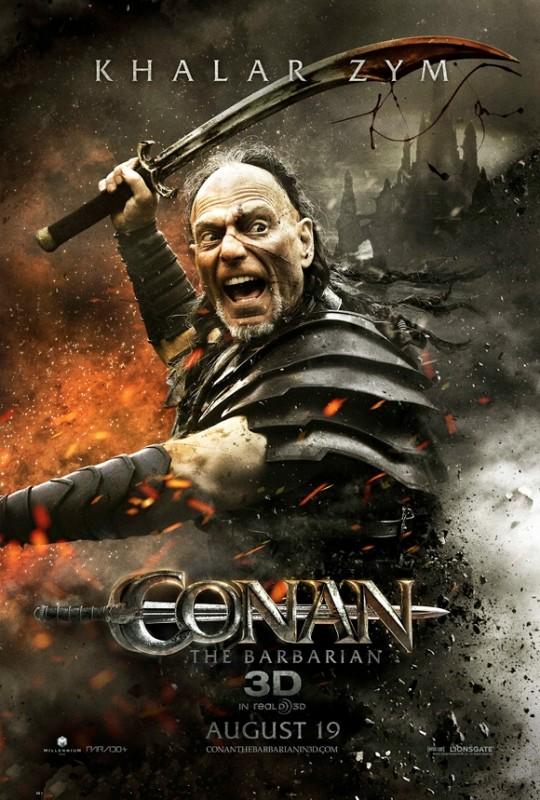 Poster di Conan the Barbarian dedicato a Stephen Lang