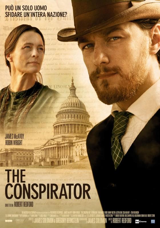 La locandina italiana di The Conspirator