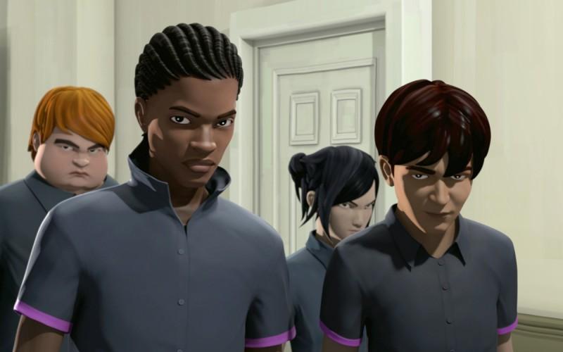 Alcuni dei protagonisti del film The Prodigies