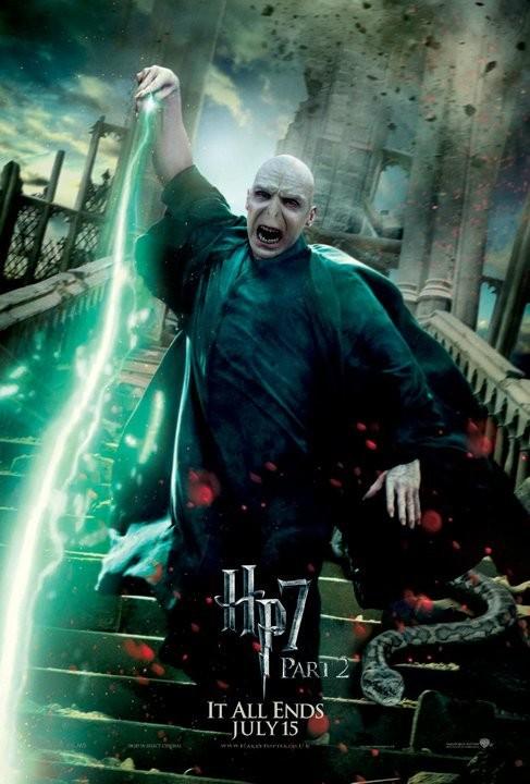 Nuovo character poster di Harry Potter e i doni della morte - parte 2 dedicato a Voldemort