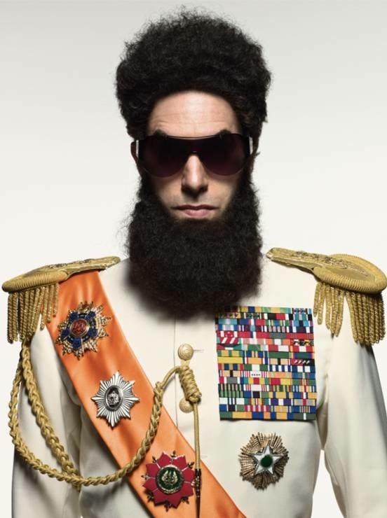 Prima immagine ufficiale di Sacha Baron Cohen  in The Dictator