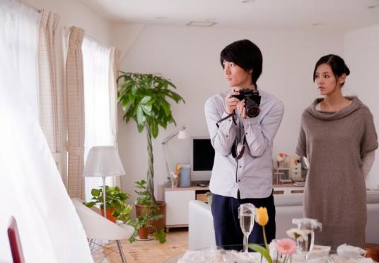 Haruma Miura e Manami Konishi nel film Tokyo Kouen