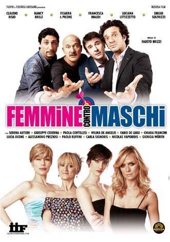 La copertina di Femmine contro Maschi (dvd)