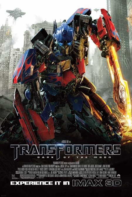 Nuovo poster USA per Transformers: The Dark of the Moon