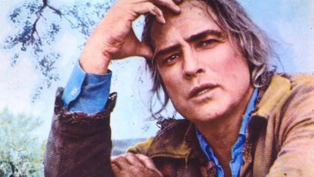 Marlon Brando in un'immagine del film Missouri di Arthur Penn