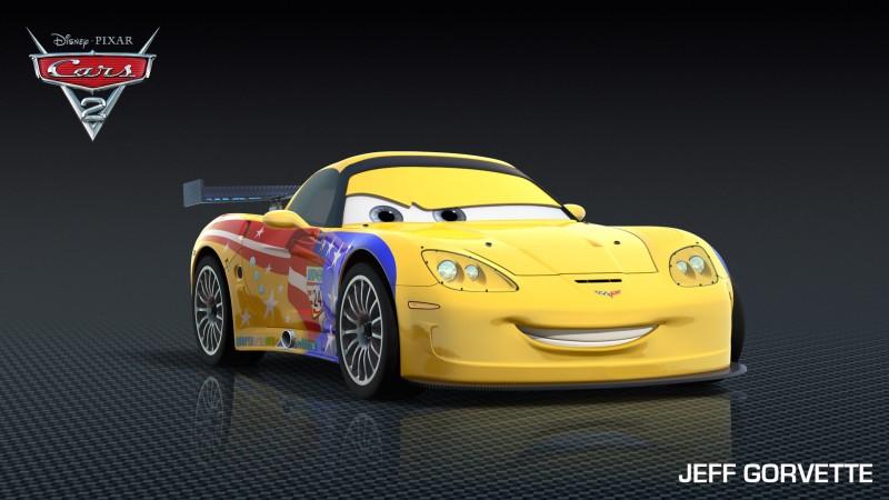 Cars 2: Jeff Gorvette, la Corvette C6 con il numero 24