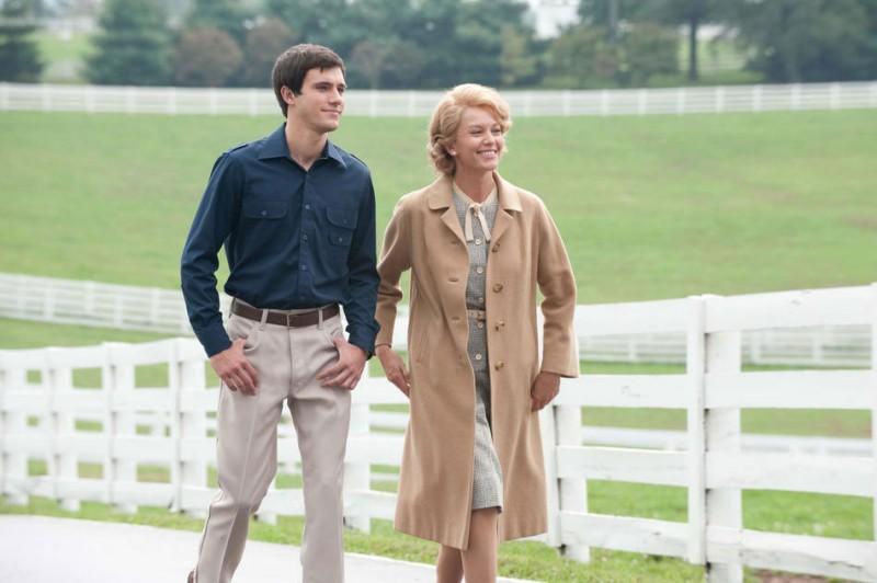 Diane Lane con Kevin Connelly nel film Secretariat