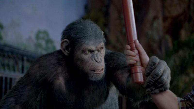 L'alba del pianeta delle scimmie: Caesar è lo scimpanzè interamente creato dalla Weta Digital
