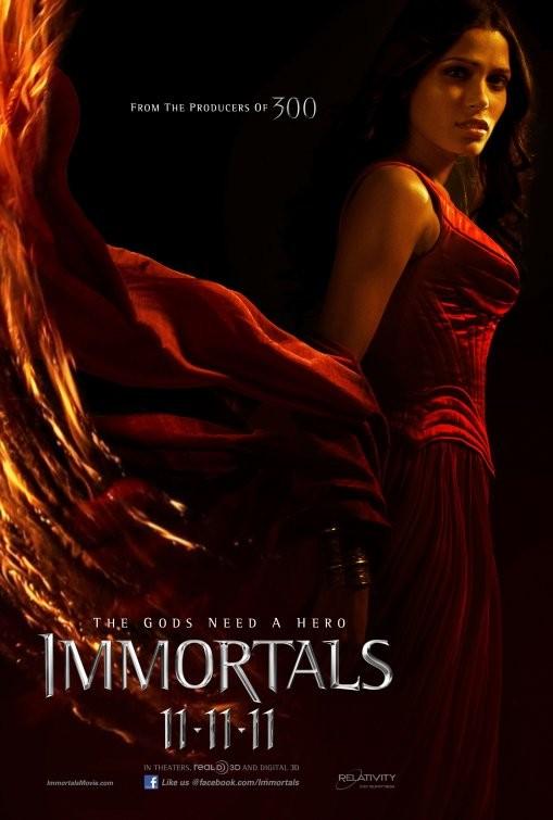 Ottavo Character Poster per Immortals (Freida Pinto)
