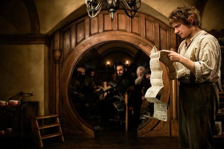 Martin Freeman e Richard Armitage in una scena di The Hobbit