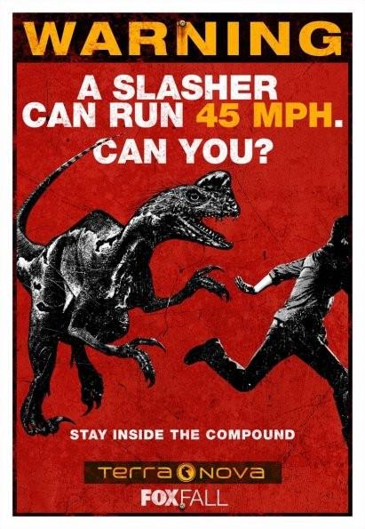 Uno dei poster della nuova serie Fox Terra Nova