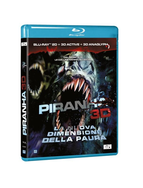 La copertina di Piranha 3D (blu-ray)