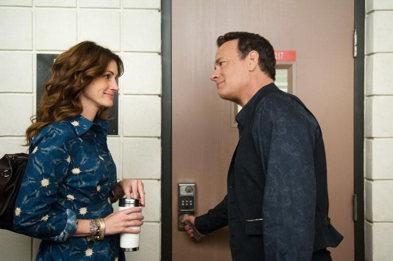 Julia Roberts con Tom Hanks nel film Larry Crowne