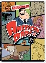 La copertina di American Dad! - Volume 5 (dvd)