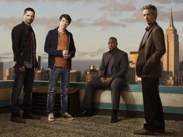 Il cast della serie Alphas in una foto promozionale