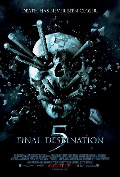 Nuovo poster per Final Destination 5