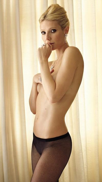 Gwyneth Paltrow (quasi) nuda su Vanity Fair (luglio 2011)
