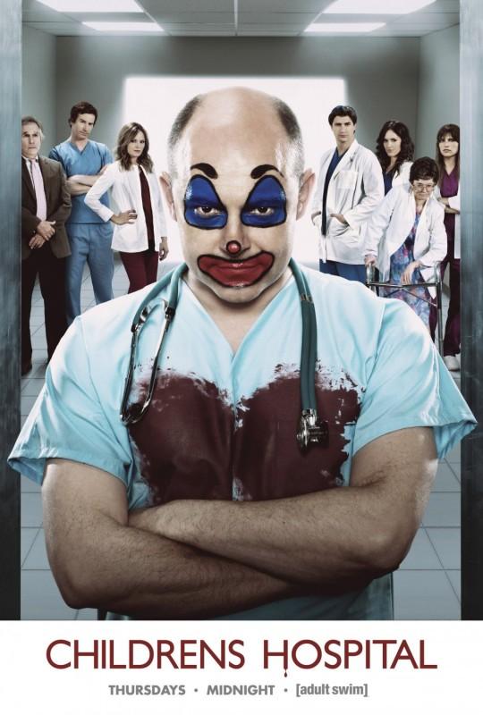 Un poster della stagione 3 di Childrens Hopsital