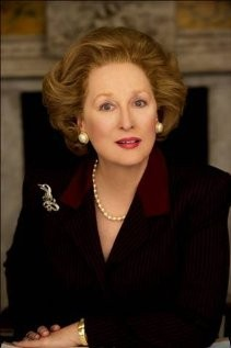 Meryl Streep nei panni di Margaret Thatcher in The Iron Lady