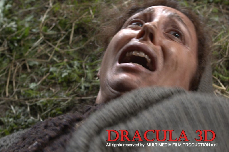 Una sequenza del film Dracula 3D