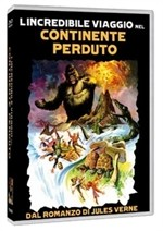La copertina di L'incredibile viaggio nel continente perduto (dvd)