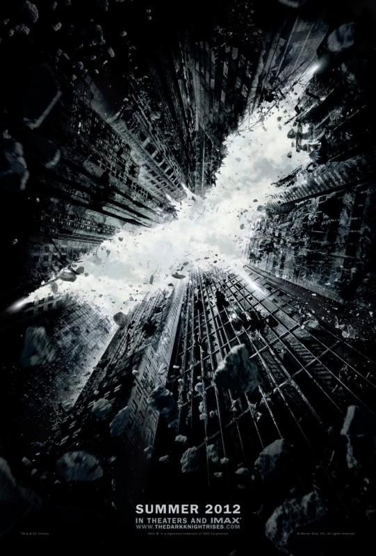 La locandina di The Dark Knight Rises