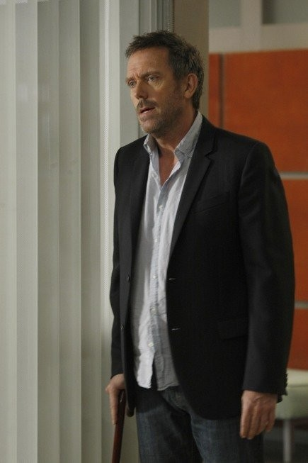 Hugh Laurie nell'episodio Bombshells di Dr House