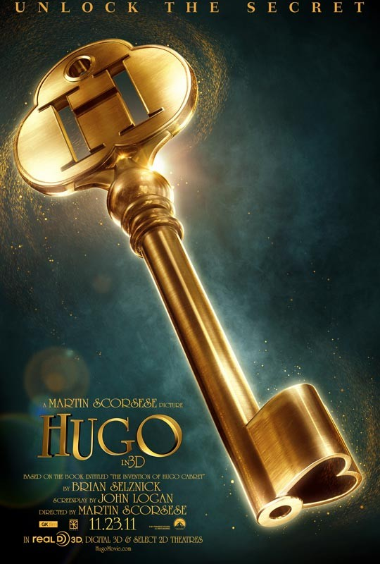 La locandina di Hugo