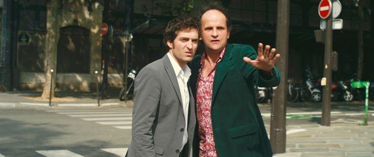 Mathieu Demy con Lionel Abelanski nel film L'art de séduire