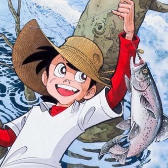 Una scena di Sampei, ragazzo pescatore