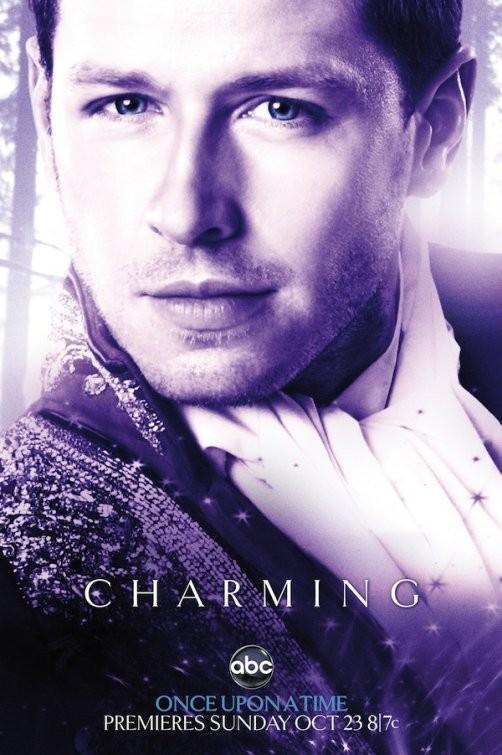 Character poster per il personaggio del Prince Charming (Josh Dallas) della serie Once Upon a Time
