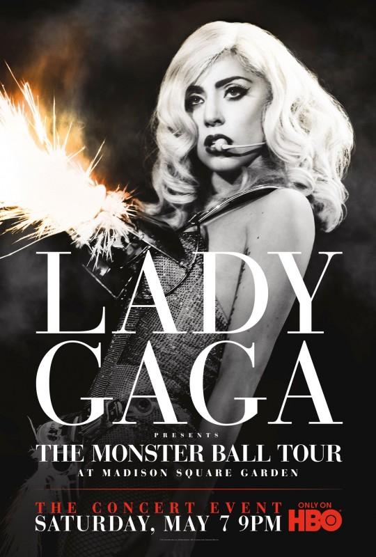 La locandina di Lady Gaga Presents: The Monster Ball Tour at Madison Square Garden
