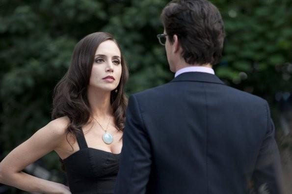 Eliza Dushku e Matthew Bomer nell'episodio On the Fence di White Collar