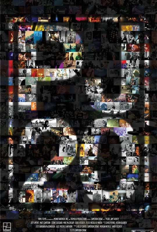 La locandina di Pearl Jam Twenty