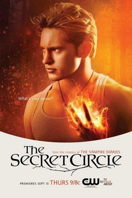 Un character poster per il personaggio di Louis Hunter nella serie The Secret Circle
