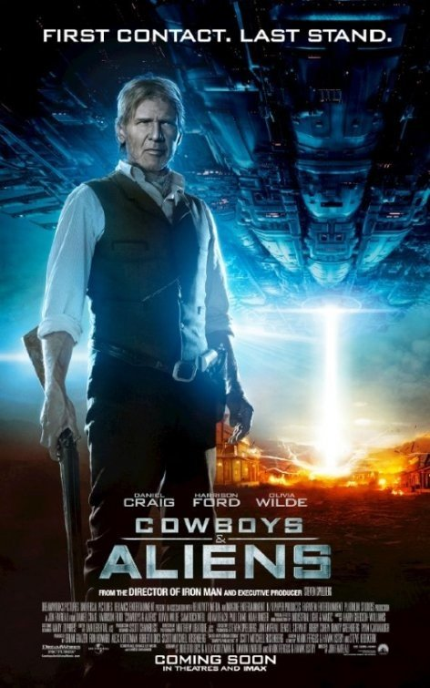 Character Poster per Cowboys & Aliens - Harrison Ford