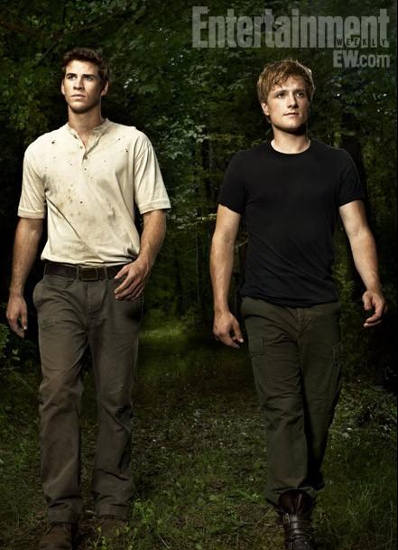 Ecco Josh Hutcherson e Liam Hemsworth, protagonisti maschili di The Hunger Games
