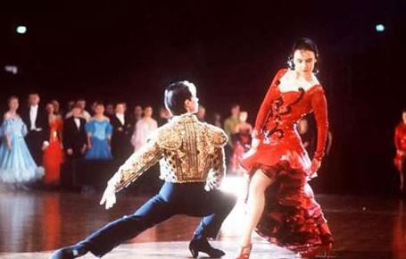 Una scena di Ballroom - Gara di ballo