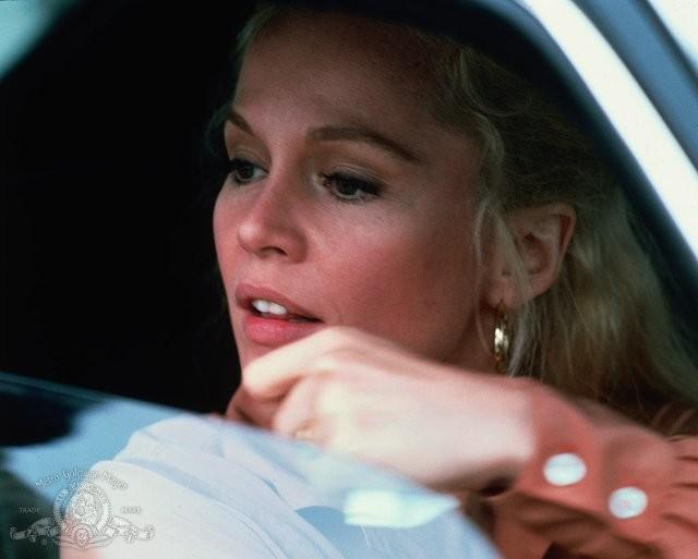 Un primo piano di Tuesday Weld nel film Strade violente (1981)
