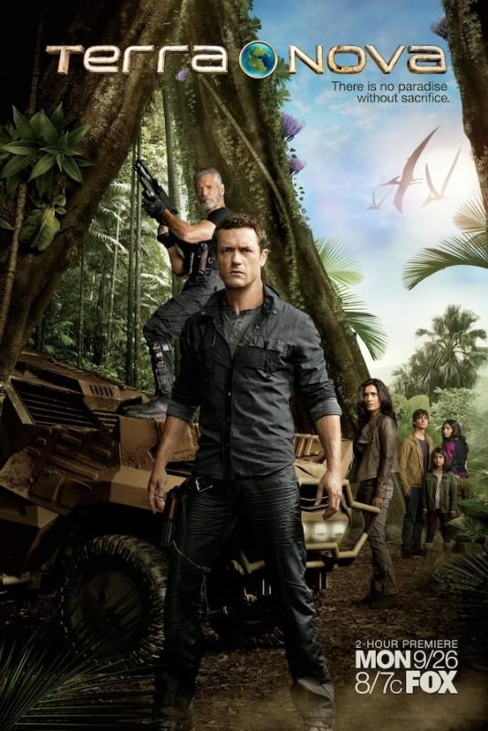 Nuovo poster della serie Fox Terra Nova