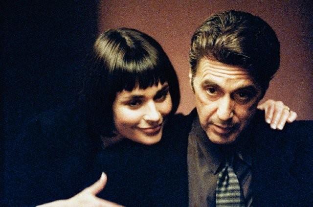 Diane Venora e Al Pacino in una scena di Heat - La sfida, di Michael Mann