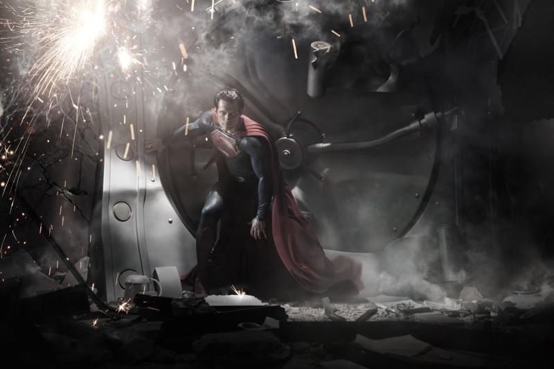 La prima immagine di Henry Cavill in Superman: Man of Steel