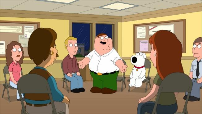 Peter e Brian in una scena dell'episodio Friends of Peter G. de I Griffin