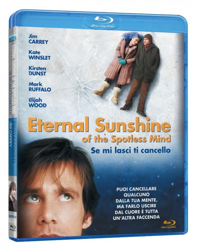 La copertina di Eternal Sunshine of the Spotless Mind - Se mi lasci ti cancell (blu-ray)