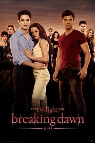 Nuova locandina di The Twilight Saga: Breaking Dawn - Parte 1