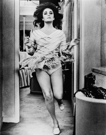 Una splendida foto di Liz Taylor dietro la quale Richard Burton scrisse una dedica appassionata