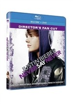 La copertina di Justin Bieber: Never Say Never - Director's Fan Cut (blu-ray)