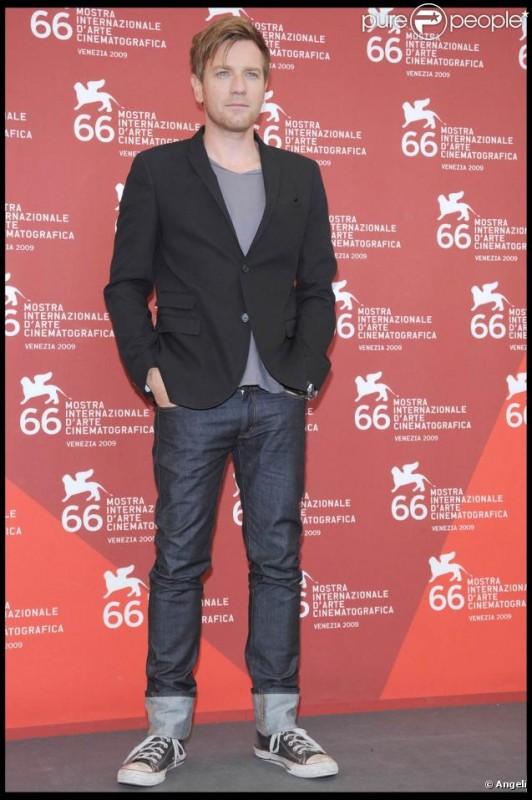 Ewan McGregor al photocall di Venezia 2009